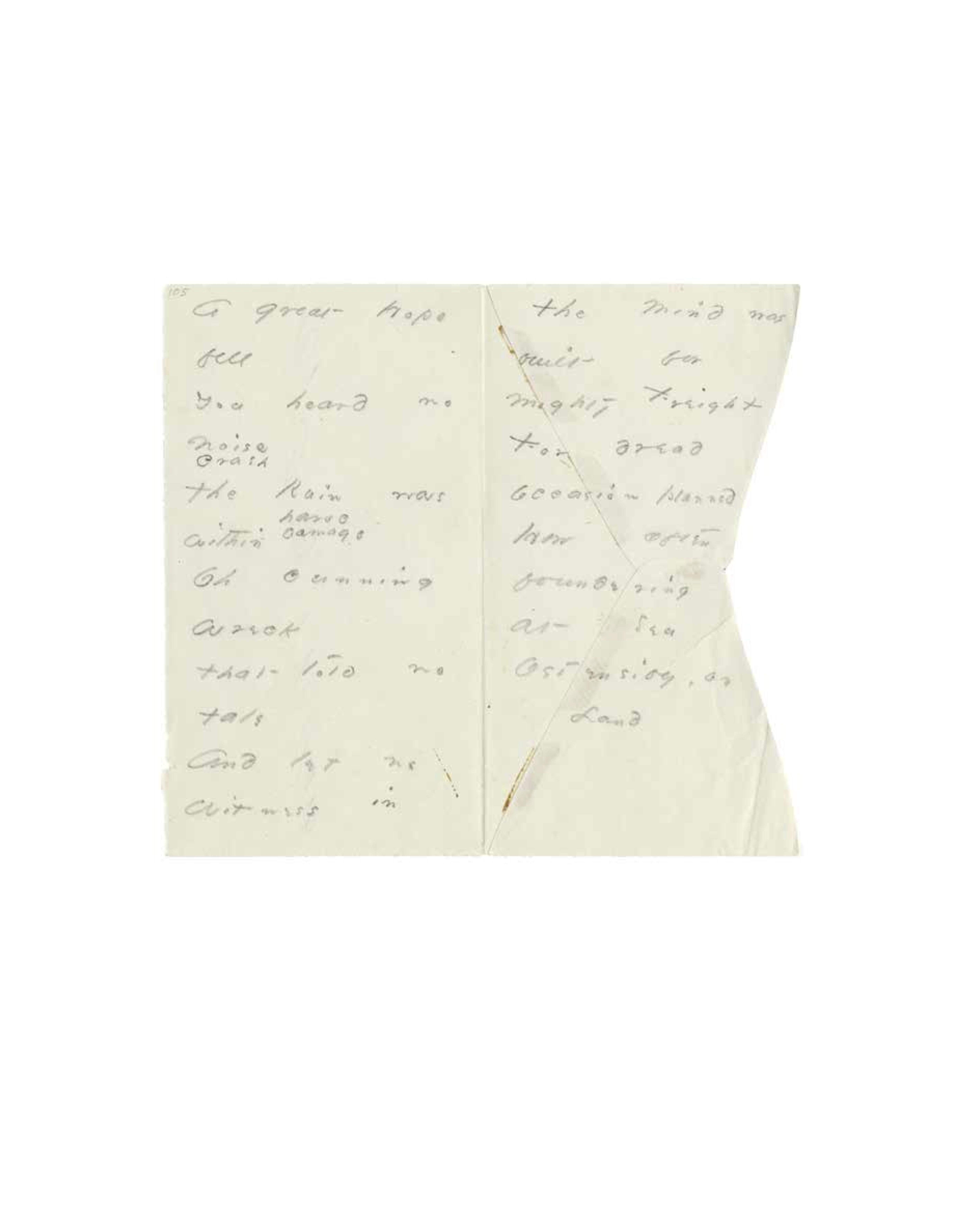 Emily Dickinson Envelope Poems 7