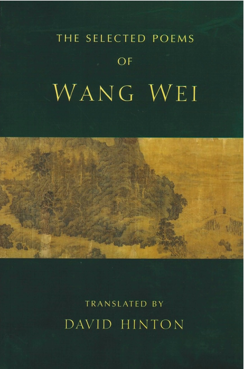 New Directions Publishing The Selected Poems Of Wang Wei